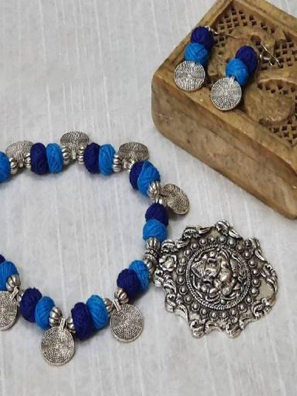 oxidized jewelry set