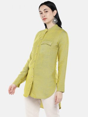 Green High Low Tunic