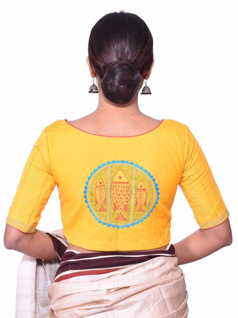 Kantha Embroidery Blouse