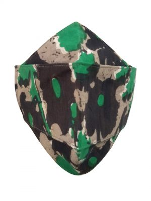 Square Mask ( Army print)