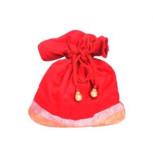 Chanderi Silk Potli Bag