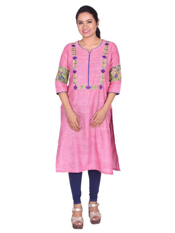 handloom straight kurta