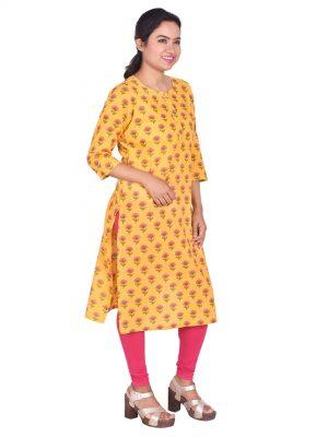 Jaipuri Print Cotton Kurti