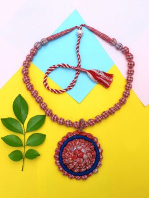 Red Gamcha Necklace
