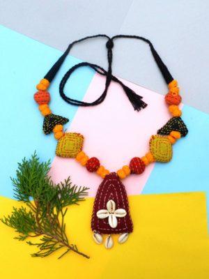 Kantha Necklace