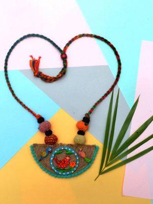 Handmade Jute Necklace