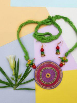 Kantha Necklace set