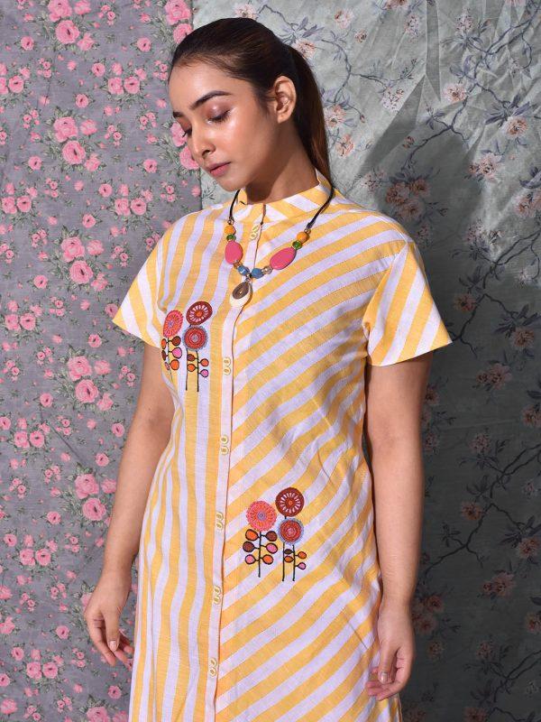 Chinese Collar Kurti