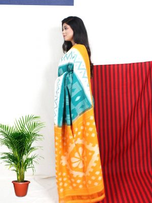Green Pachampalli Saree