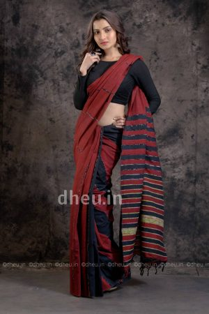 Khes Handloom Pure Cotton saree