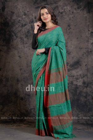 Jharna Khadi Handloom Pure Cotton Saree