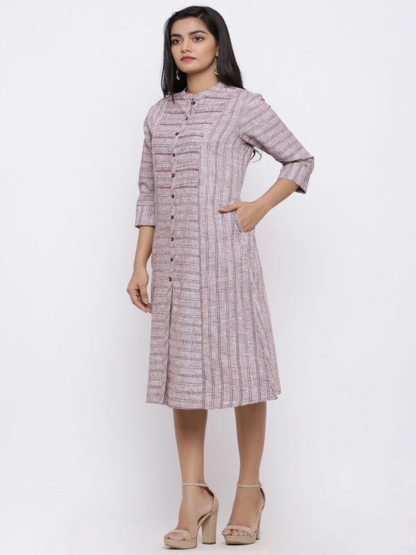 Striped yarn dyed kurti