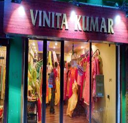 vinita dress display