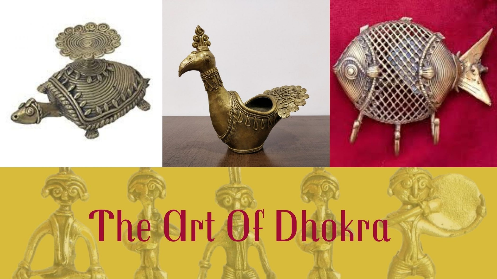The Unique Handicrafts Of India- Dhokra Art