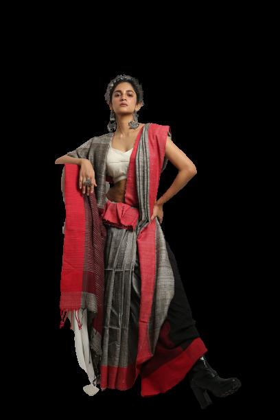 casual saree