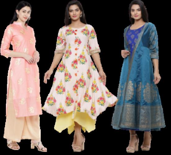kurtis layered dress
